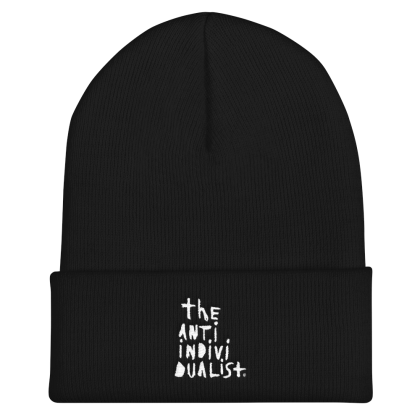 stacked - anti individualist beanie